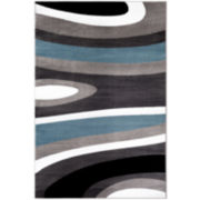 Alpine Geometric Rectangular Rug