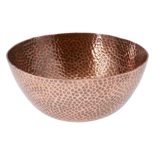 Thirstystone® Urban Farm Round Hammered Antique Copper Bowl