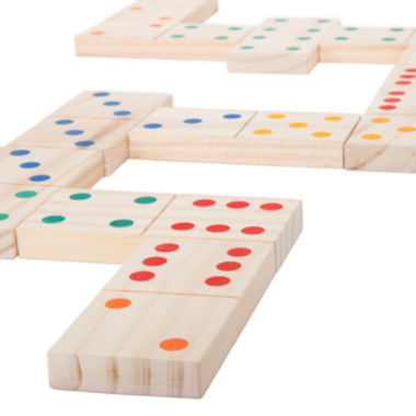 jcpenney.com | Hey! Play! Giant Wooden Dominoes Set