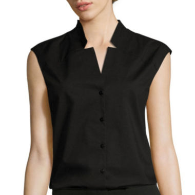 jcpenney.com | Worthington® Sleeveless Notched-Neck Top - Tall