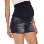 Maternity Overbelly Shorts