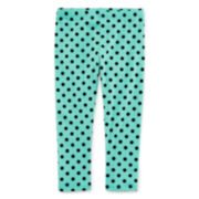 Okie Dokie® Classic Printed Leggings - Baby Girls newborn-24m