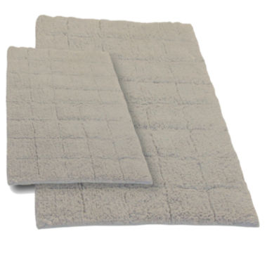 jcpenney.com | Castle Hill London Summer Tile 2-pc. Bath Rug Set