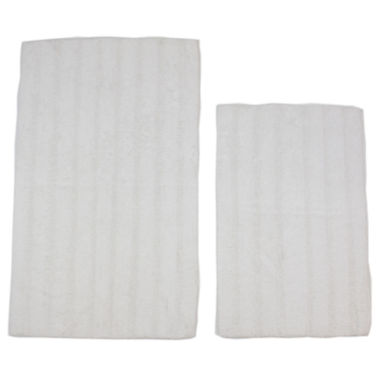 jcpenney.com | Castle Hill London Linear Reversible 2-pc. Bath Rug Set