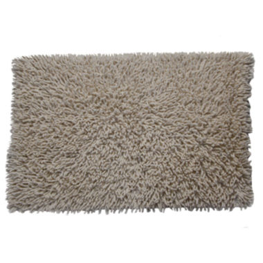 jcpenney.com | Castle Hill London Chenille Shaggy Bath Rug Collection