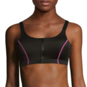 Flirtitude® Front-Zip Sports Bra