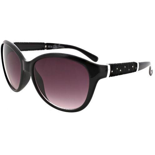 Oleg Cassini Full Frame Cat Eye Sunglasses-Womens
