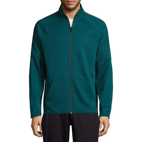 Msx By Michael Strahan Long Sleeve Polo Shirt