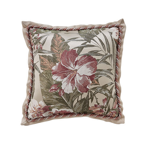 Croscill Classics Anguilla Square Throw Pillow