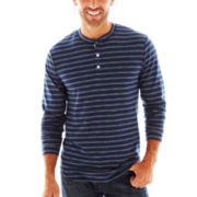 St. John's Bay® Cotton Henley