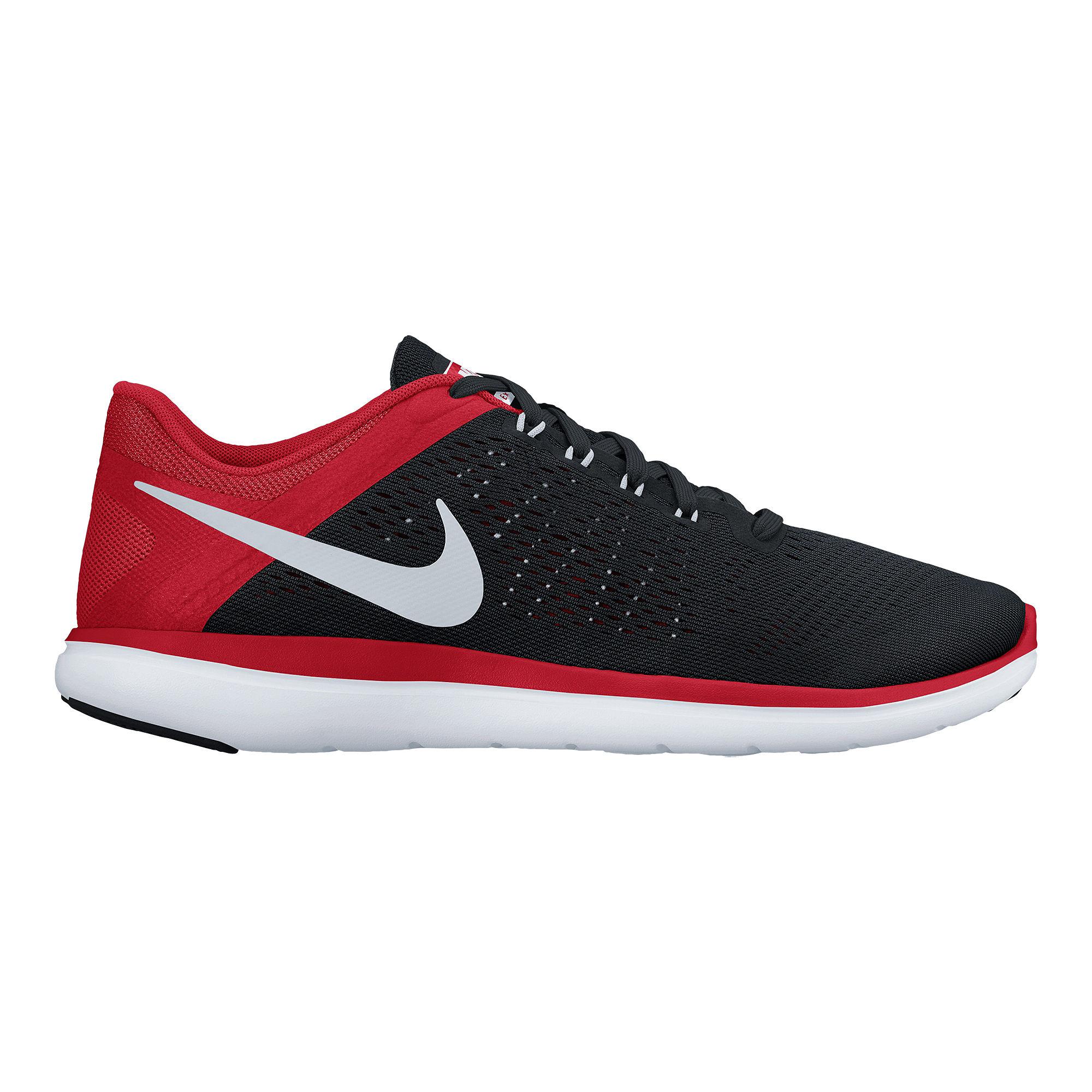 Men Nike Flex 2016 RN Running/Athletic Shoe Black/metallic Silver 830369-006