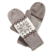 Isotoner® Chenille Mittens