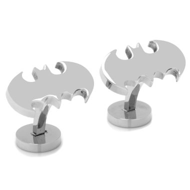jcpenney.com | DC Comics® Stainless Steel Batman Cuff Links