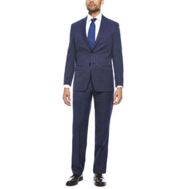 jcpenney.com | Collection by Michael Strahan Blue Windowpane Suit- Classic