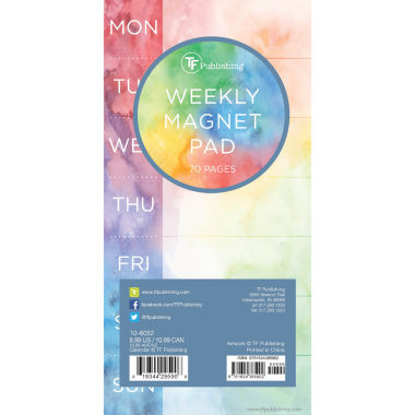 jcpenney.com | Tie-Dye 70 Page Magnetic List Pad