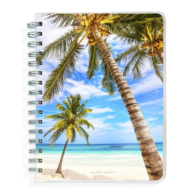 jcpenney.com | 2017 Academic Year Tropical Beaches Spiral Engagement Planner