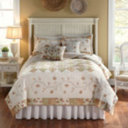 Nostalgia Home Sanibel Reversible Quilt & Accessories