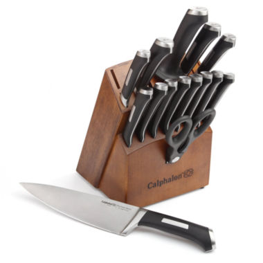 jcpenney.com | Calphalon® Precision Series Stainless Steel 16-pc. Cutlery Set
