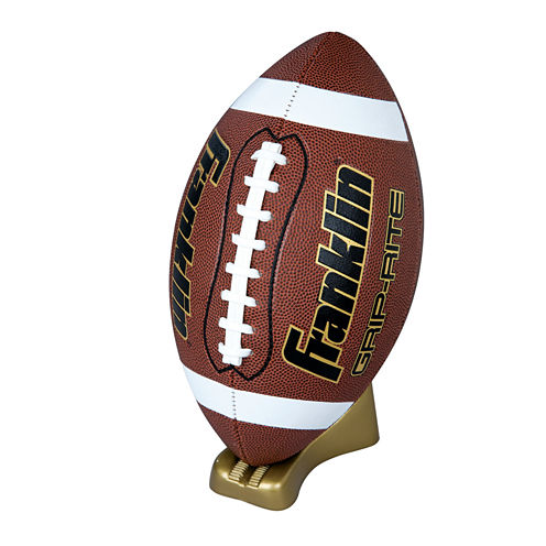 Franklin Sports Grip-Rite® Pump & Tee Football Set-Official