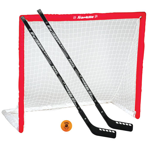 Franklin Sports NHL Hockey Goal, Stick & Ball Set