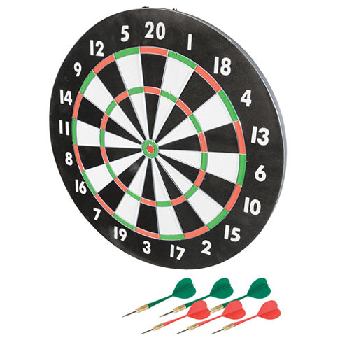 "Franklin Sports 17"" Paper Dartboard"