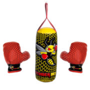 Franklin Sports Stinger Bee Youth Punching Bag & Glove Set