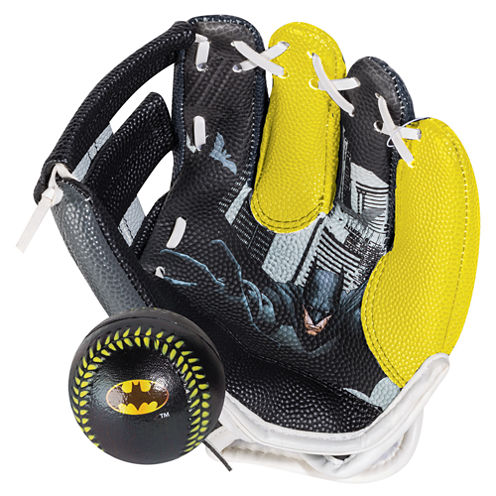 Franklin Sports Air Tech® Glove & Ball Set - Batman