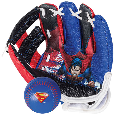 Franklin Sports Air Tech® Glove & Ball Set - Superman