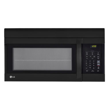 jcpenney.com | LG 1.7 cu. ft. EasyClean® Over-the-Range Microwave Oven