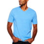 St. John's Bay® Legacy Short-Sleeve V-Neck Tee