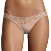 Flirtitude® V-Lace Bikini Panties