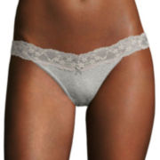 Flirtitude® V-Lace Bikini Panties
