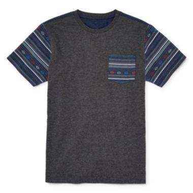 jcpenney.com | Arizona Short-Sleeve Pocket Tee - Boys 8-20 and Husky
