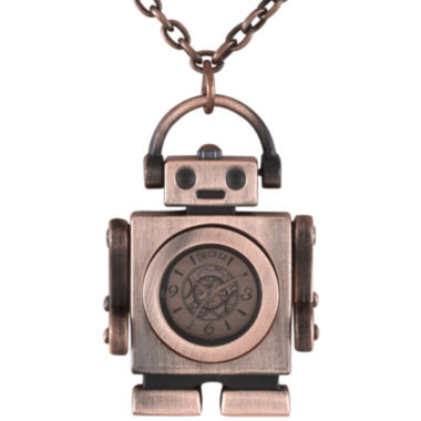 jcpenney.com | Decree® Robot Pendant Necklace Watches