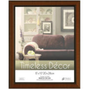 Roma Walnut-Stained Picture Frames