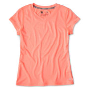 Xersion™ V-Neck Quick Dri Short-Sleeve Tee - Girls 6-16 and Plus
