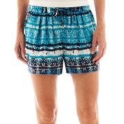 a.n.a® Elastic-Waist Beach Shorts