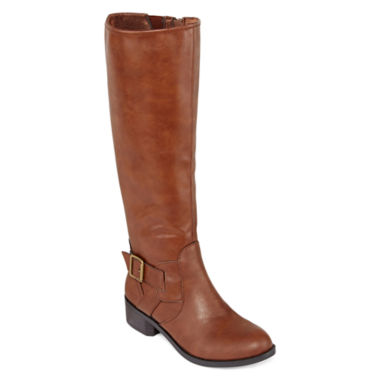 jcpenney.com | Arizona Dylan Womens Riding Boots - Wide Calf
