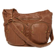 Arizona Double-Pocket Convertible Hobo Bag