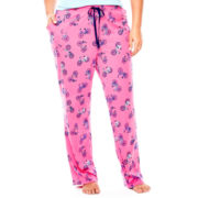 Sleep Chic Cotton Sleep Pants - Plus