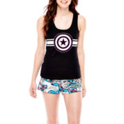Marvel® Captain America™ Racerback Tank and Shorts Pajama Set