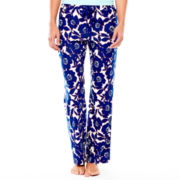 Liz Claiborne® Knit Sleep Pants - Petite