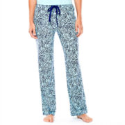 Liz Claiborne® Knit Sleep Pants - Tall