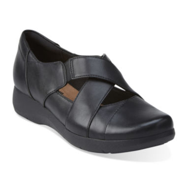 jcpenney.com | Clarks® Idella Honor Leather Slip-On Shoes