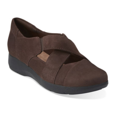 jcpenney.com | Clarks® Idella Honor Suede Slip-On Shoes