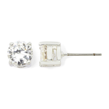 jcpenney.com | Sensitive Ears Cubic Zirconia Gold-Tone Stud Earrings