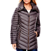 a.n.a® Pillow Collar Puffer Coat