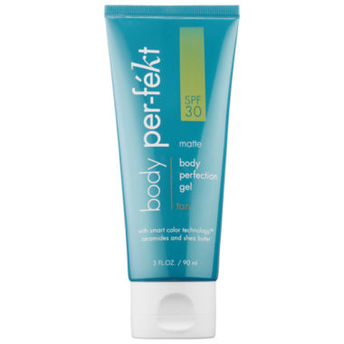 jcpenney.com | Perfekt Matte Tan Body Perfection Gel With SPF 30