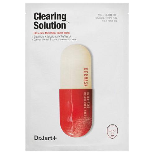 Dr. Jart+ Clearing Solution™ Ultra-Fine Microfiber Sheet Mask