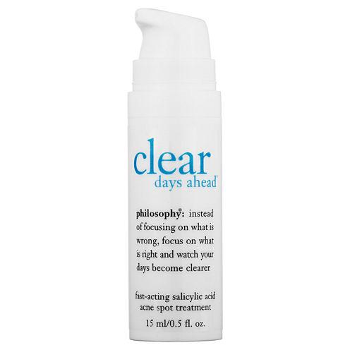 philosophy Clear Days Ahead™ Fast-Acting Salicylic Acid Acne Spot Treatment